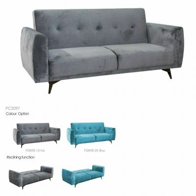 Metal frame Sofabed 3 Seaters - CENTURY