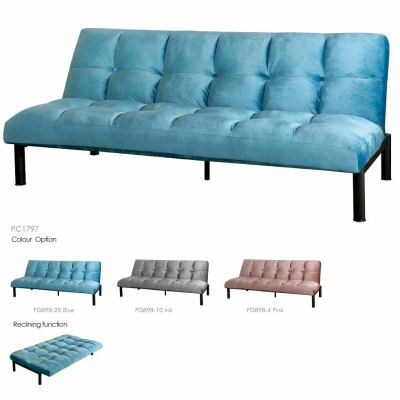 Metal frame Sofabed 3 Seaters - SUMMER