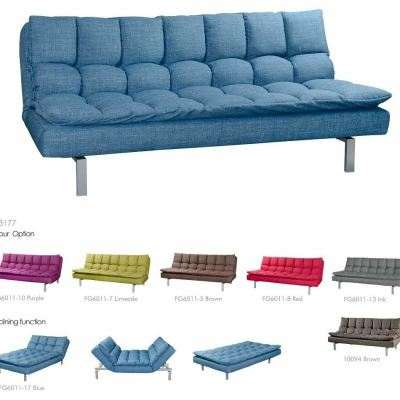 Metal frame Sofabed 3 Seaters - OY