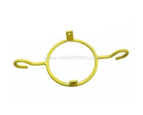 TRAFFIC CONE YELLOW COLOUR HOOK