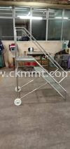 Stainless Steel Moveable Platform Ladder Stainless Steel Products