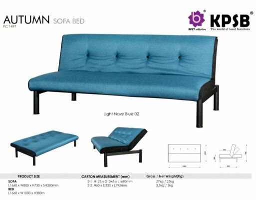 Autumn Sofabed (Blue)