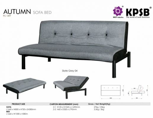 Autumn Sofabed (Grey)