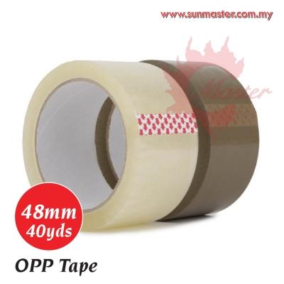 48mm x 40yds OPP Tape