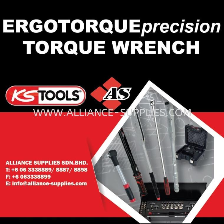 KS TOOLS ERGOTORQUE®precision Torque Wrench ERGOTORQUE Precision Torque Wrench 06.4 KS TOOLS Torque 06.KS TOOLS