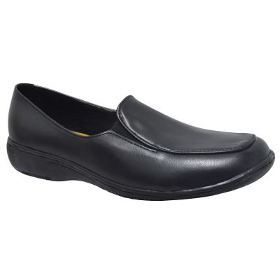 LADIES COURT SHOE (63-553-BK)
