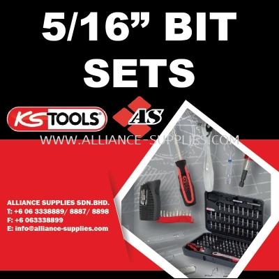 """KS TOOLS 5/16"""" Bit Sets"""