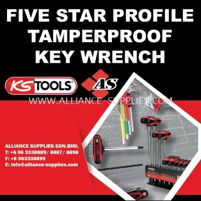 Five Star Profile Tamperproof Key Wrench