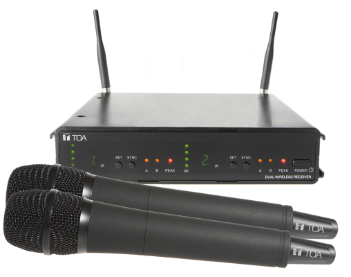 WS-422. TOA Dual Channel Wireless Set. #AIASIA Connect