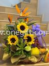 FF35 Flower and Fruit Basket Flower and Gift