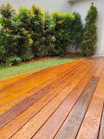 Chengal Decking Clear Coating