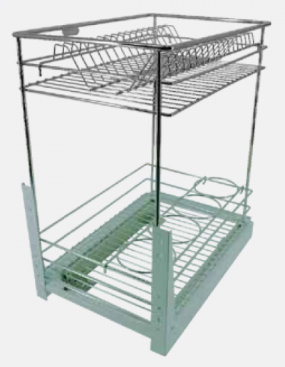 MULTI-FUNCTION TWO LAYERS PULL OUT BASKET (TYPE 2)