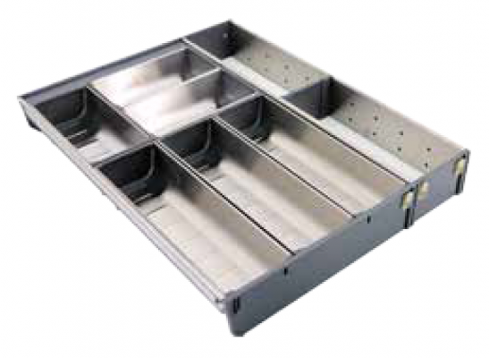 STAINLESS STEEL CUTLERY TRAY (DC0650D)