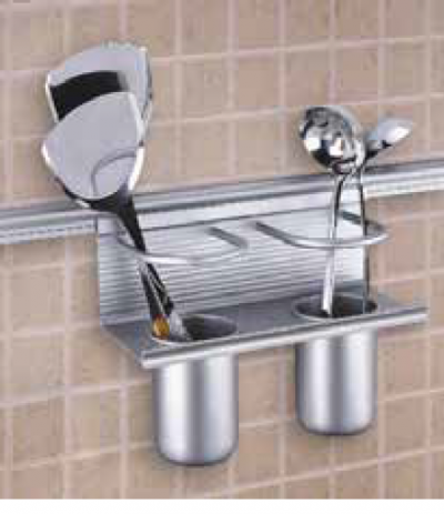 ALUMINIUM DOUBLE CUP HOLDER