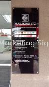 Acrylic Signage  Acrylic Signage