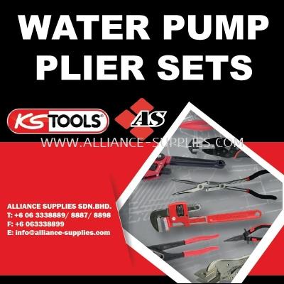 KS TOOLS Water Pump Plier Sets