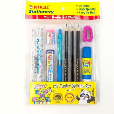 Nikki Stationery Writing Set 9in1