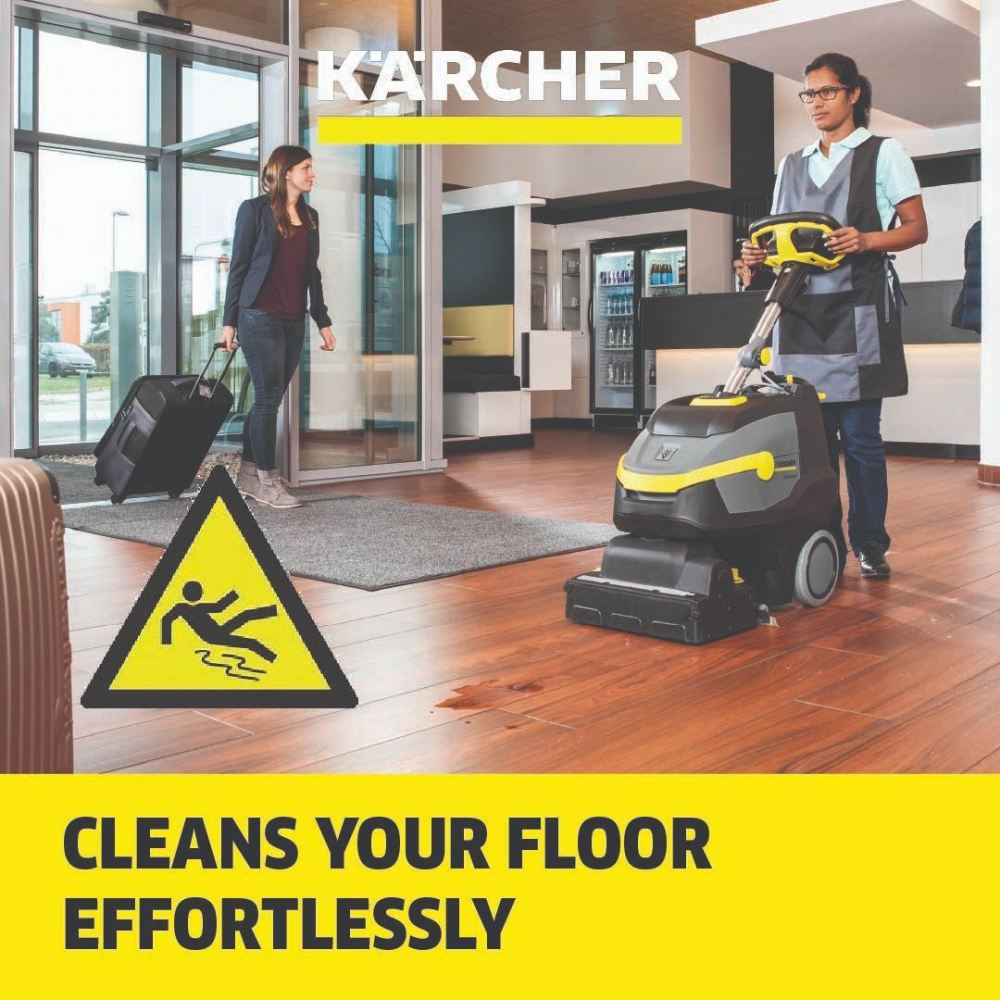 Karcher Professional - Scrubber dryers, floor cleaning - Compact/push scrubber driers