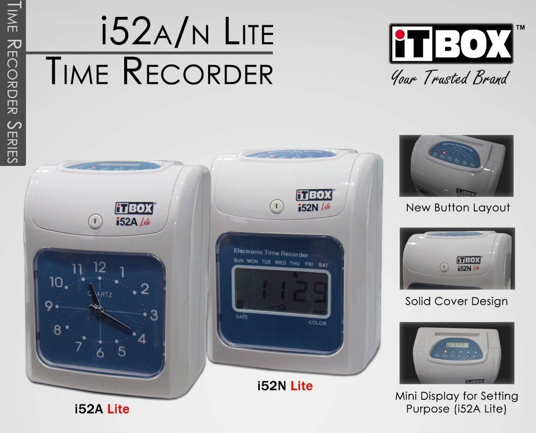 ELECTRONIC TIME RECORDER MODEL (i52A)