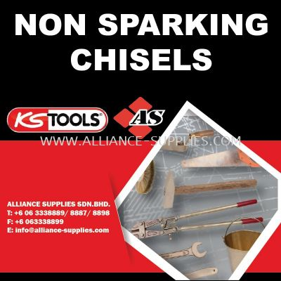 KS TOOLS Non Sparking Chisels