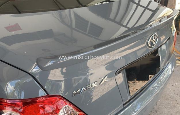 TOYOTA MARK X 2005 - 2009 OEM TRUNK SPOILER