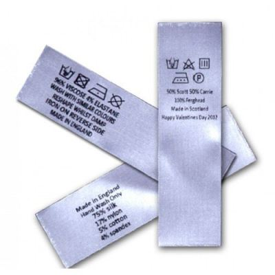 Satin Labels