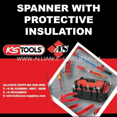 KS TOOLS Spanner with Protective Insulation