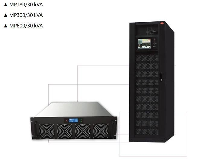 Three Phase Online UPS; 30KVA Modular Type