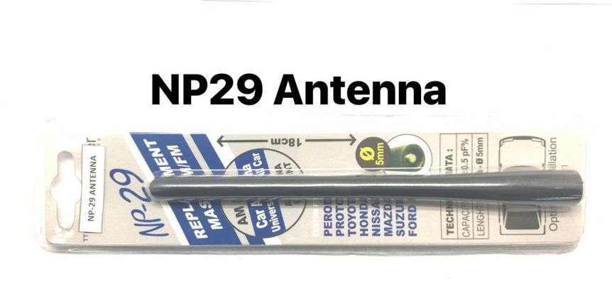 NP-29 (18CM)NIPPON POWER ANTENNA(MIX)