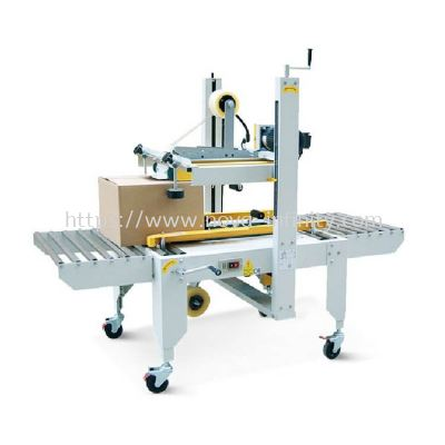 Semi Auto Top And Bottom Belt Carton Sealer(For Industry Use)