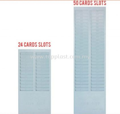 Punch Card Slots Holder