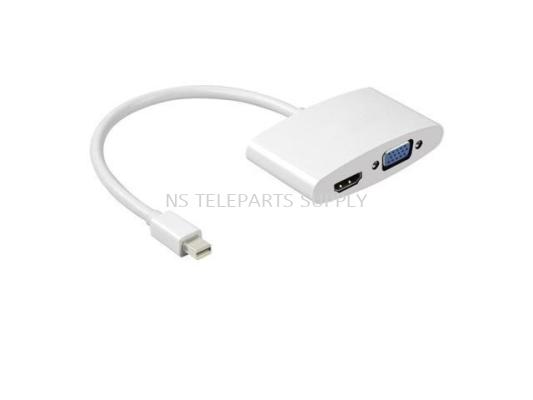 Mini Display Port to HDMI + VGA (4K X 2K)