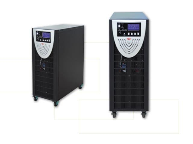 3 Phase/Single Phase Online High Frequency UPS; Tower Type