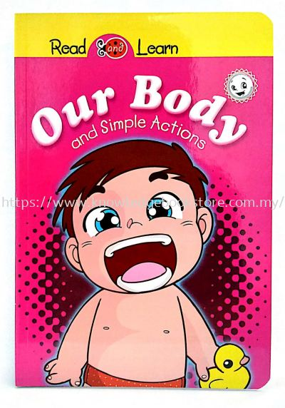 READ & LEARN - OUR BODY & SIMPLE WORDS
