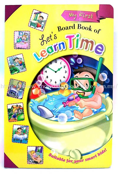 MY FIRST BOARD BOOK OF LET'S LEARN TIME