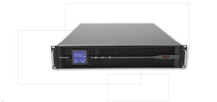 UPS Single Phase Online Rack Mount ; Lithium Ion Battery