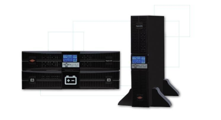 UPS , Single Phase Online ; Rack Mount Type