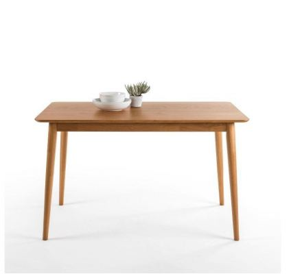 Zinus Fully Rubber Wood Dining Table