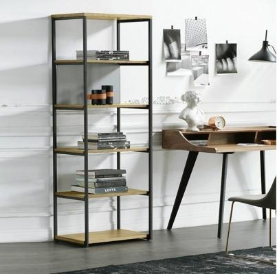 ROMERO Multi Layer Modern Industrial Style Wall Storage Iron Shelf Divider