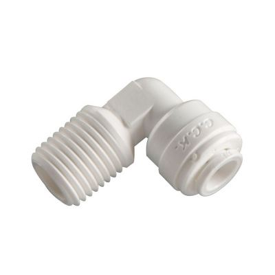 4ME4 Male Elbow One Touch Fitting for Water Filter