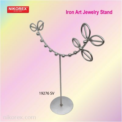 540305SV - JEWELRY STAND 14QT1872-4Y (SILVER)