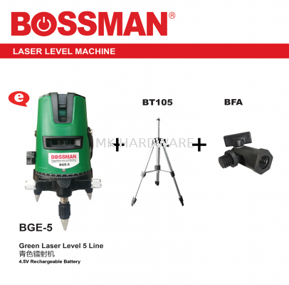 GREEN LASER LEVEL 5 LINE MACHINE