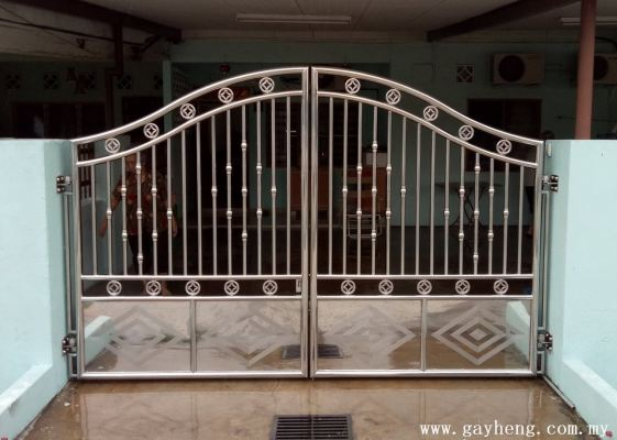 Normal  Stainless Steel Gate Add Bottom Plate