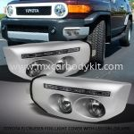 TOYOTA FJ CRUISER FOG LIGHT COVER WITH DAYLIGHT (SILVER)