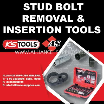 KS TOOLS Stud Bolt Removal and Insertion Tools