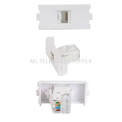 RJ 45 CAT 5E WITH COVER