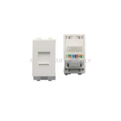 RJ45 CAT 6 WITH COVER