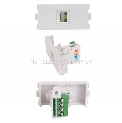 RJ11 WITH COVER