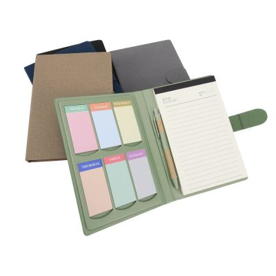 Notebook with Post It Note & Pen - NB 955