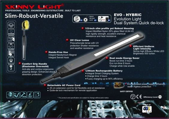 Skinny Tools - Evolution Light EVO-Hybrid